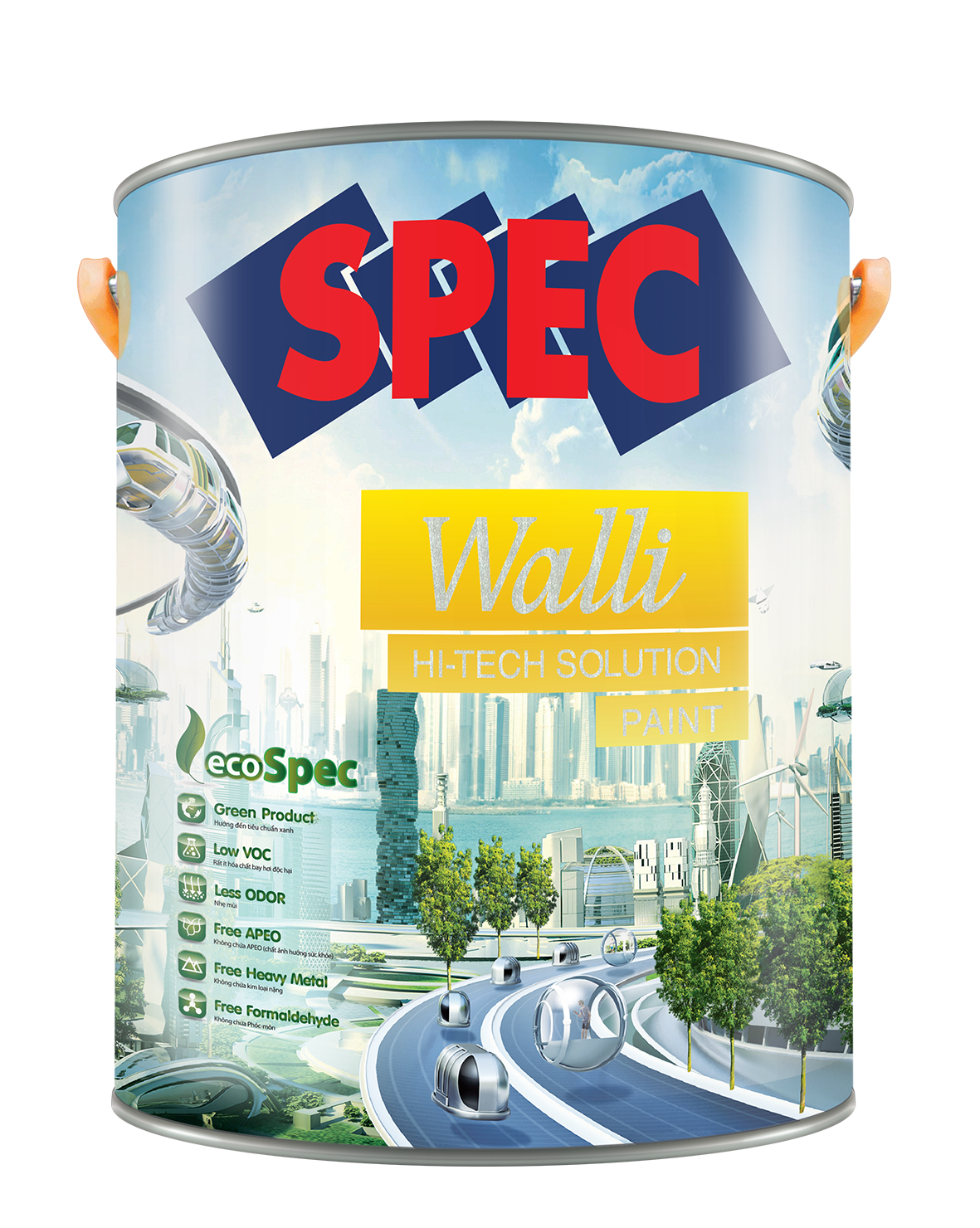 SPEC WALLI HI - TECH SOLUTION PAINT