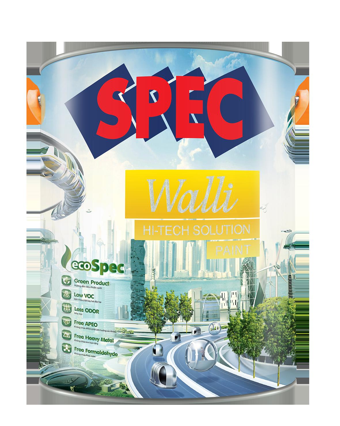 SPEC WALLI HI - TECH SOLUTION PAINT