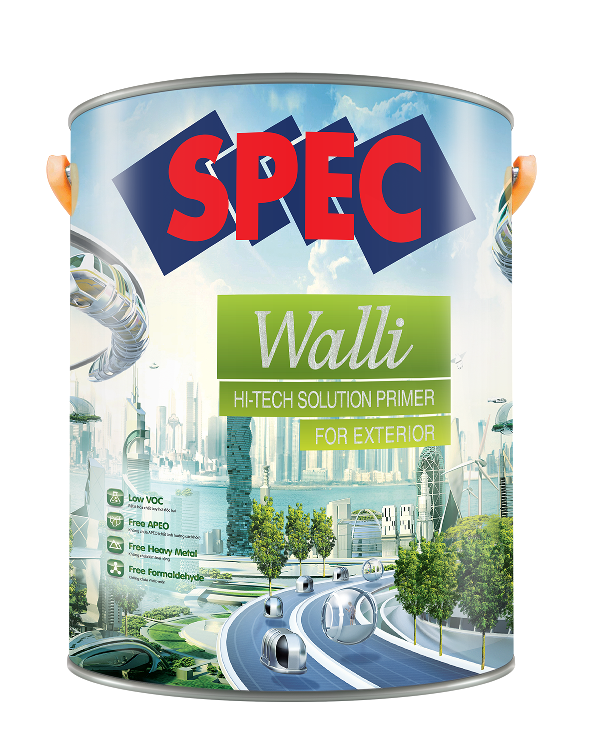SPEC WALLI HI - TECH SOLUTION PRIMER FOR EXTERIOR