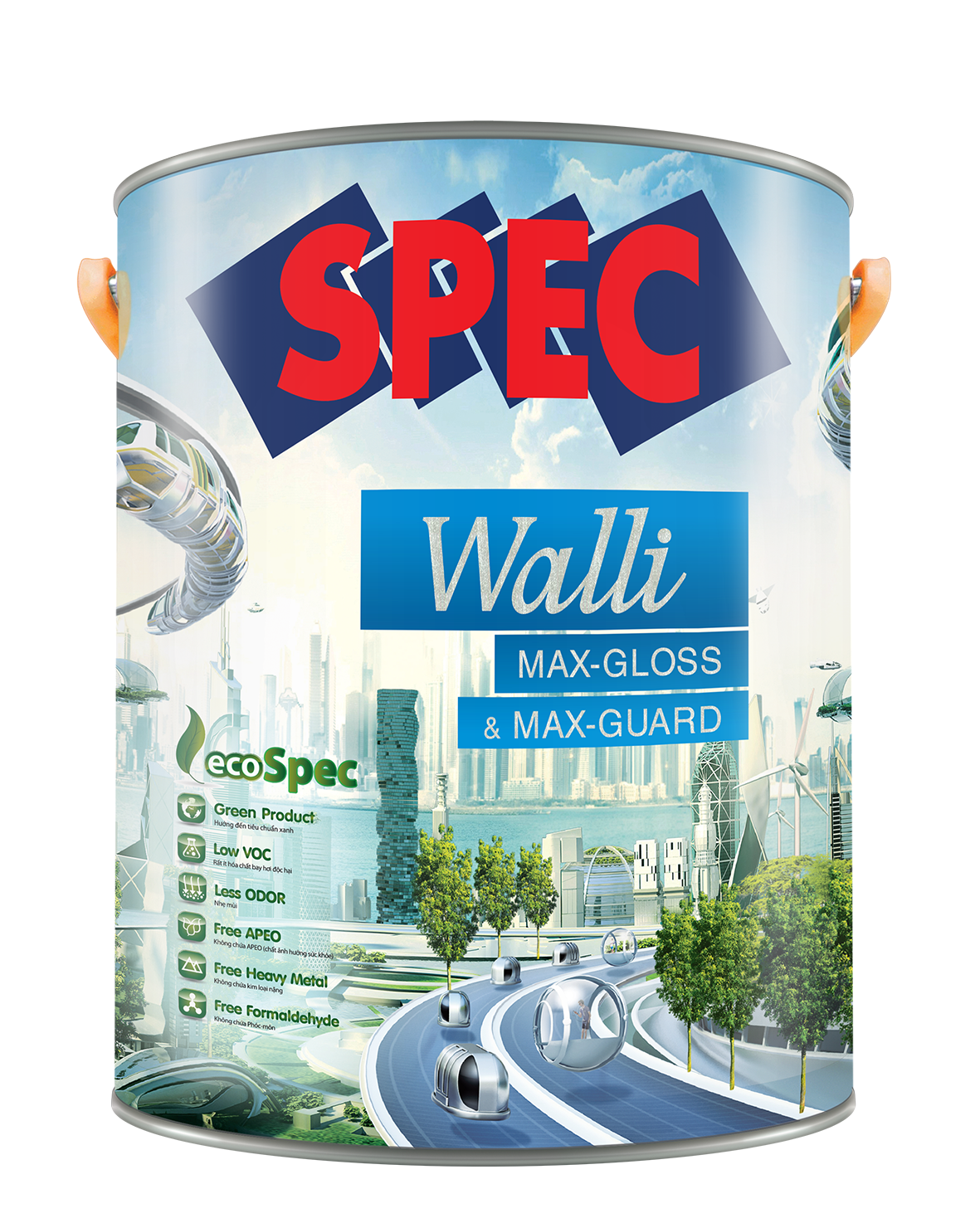 SPEC WALLI MAX - GLOSS & MAX - GUARD