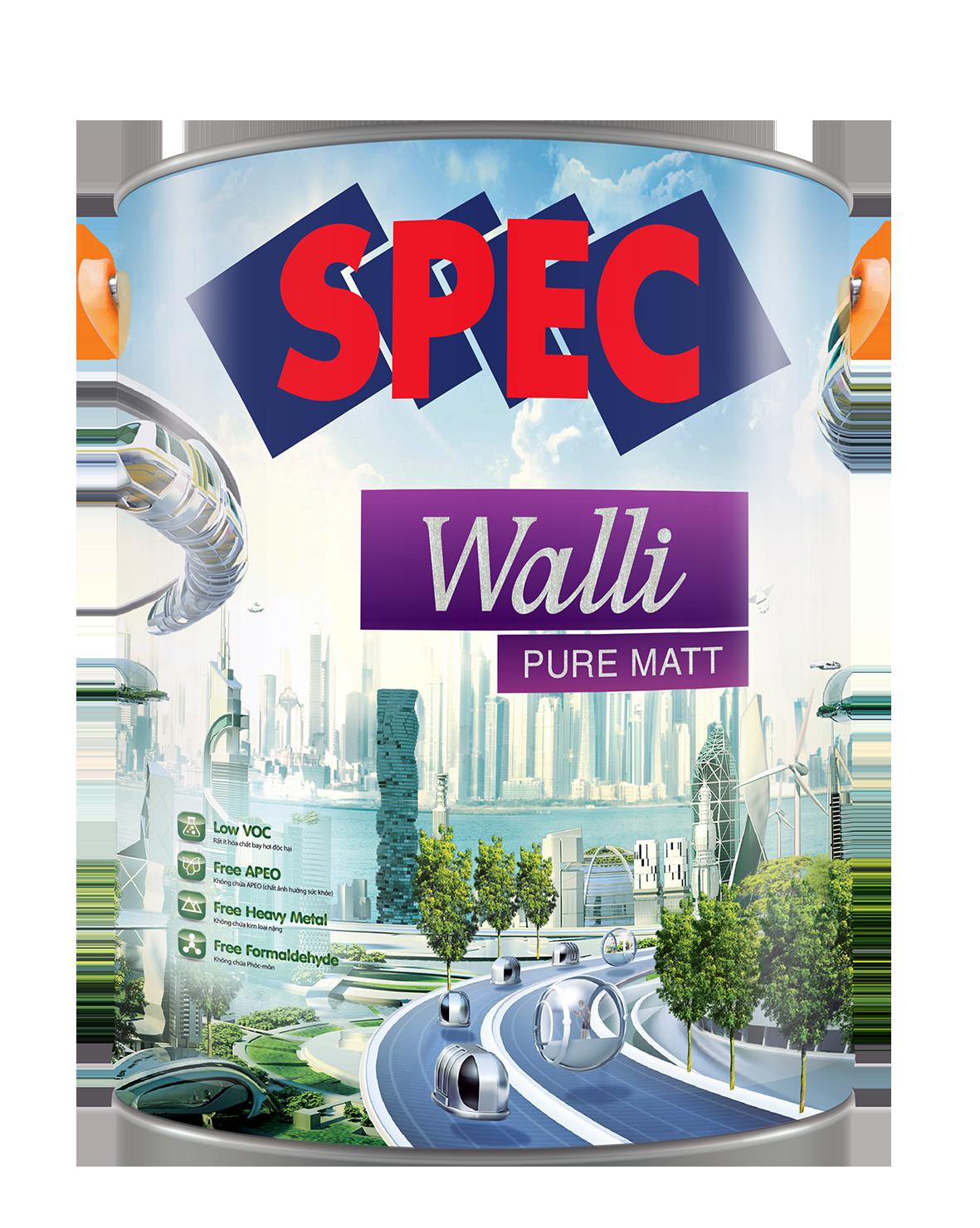 SPEC WALLI PURE MATT