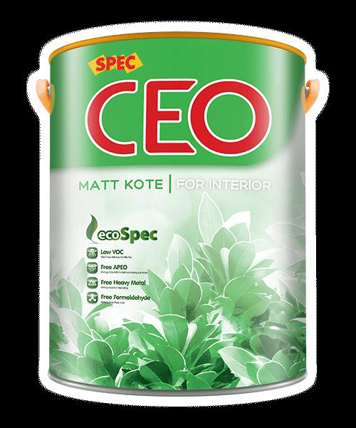 SPEC CEO MATT KOTE FOR INTERIOR SƠN NỘI THẤT LÁNG MỊN CAO CẤP