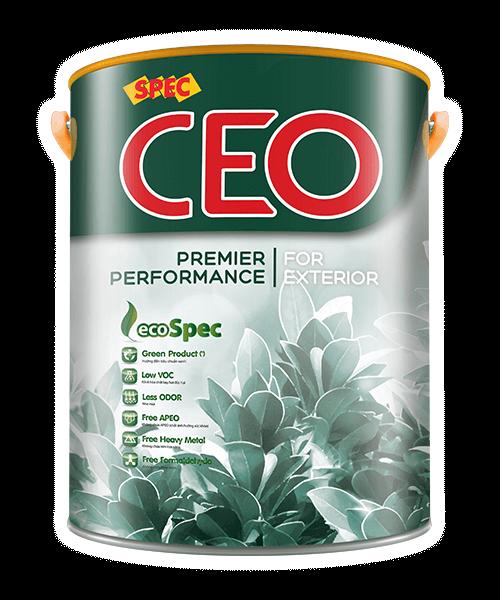 SPEC CEO PREMIER PERFORMANCE FOR EXTERIOR SƠN NGOẠI THẤT CHỐNG THẤM, CHỐNG BÁM BẤN