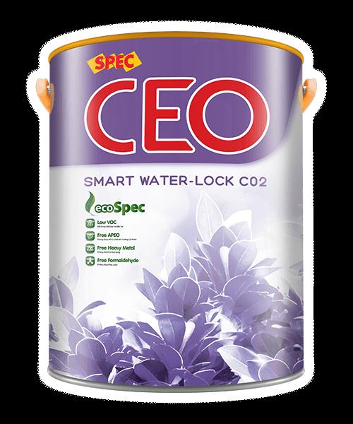 SPEC CEO SMART WATER-LOCK C02 - SƠN CHỐNG THẤM ĐA SẮC, TRỰC TIẾP TƯỜNG